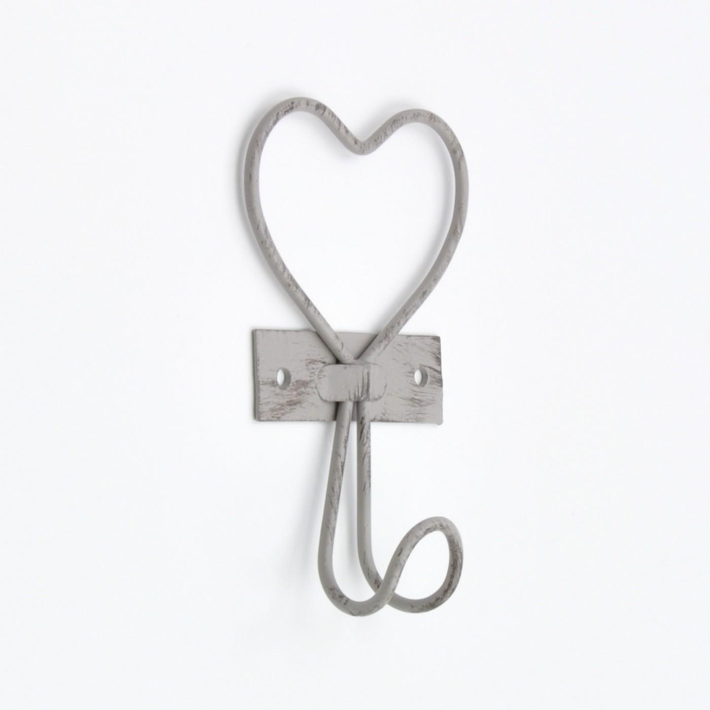 Vintage Heart Shaped Hook Pretty Heart Wall Hook Wire