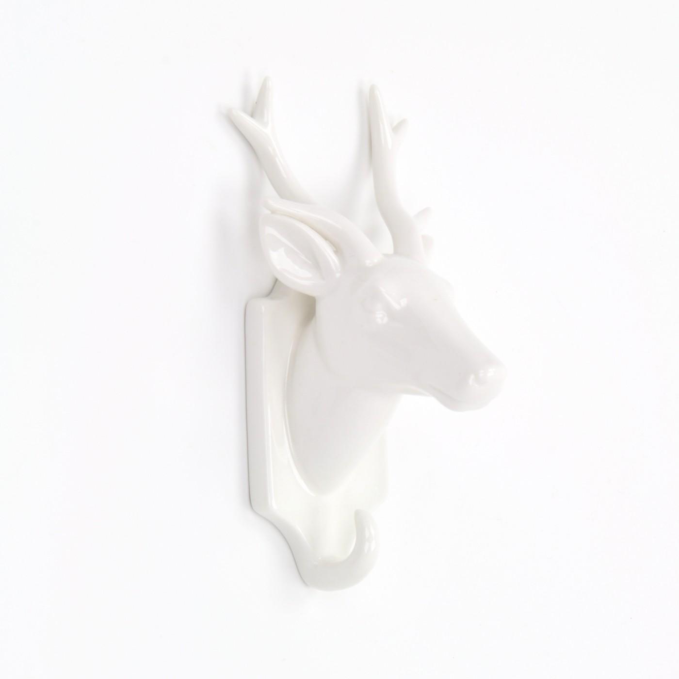 Animal-Pajaros-Buhos-Stag-Deer-Vida-Silvestre-en-forma-de-ganchos-de-Abrigo-Gancho-Puerta-montado-en