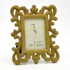 Golden Drops Photo Frame