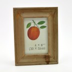 Washed Wood Photo Frame