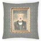 Regal Hound Cushion Cover