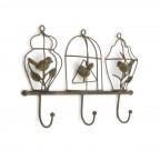 Bird House Coat Rack