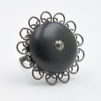 Embellished Trim Cupboard Knob