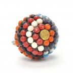 Bohemians Ball Multi Coloured Knob