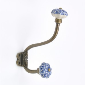 Clover Pinwheel Coat Hook