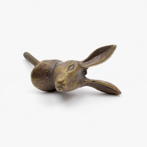 Hare Of The Hill Cupboard Knob
