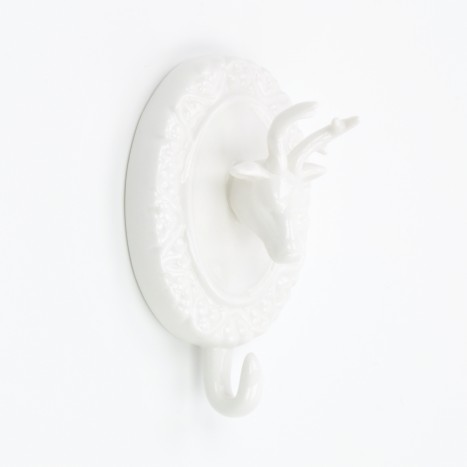 Deer Head Coat Hook