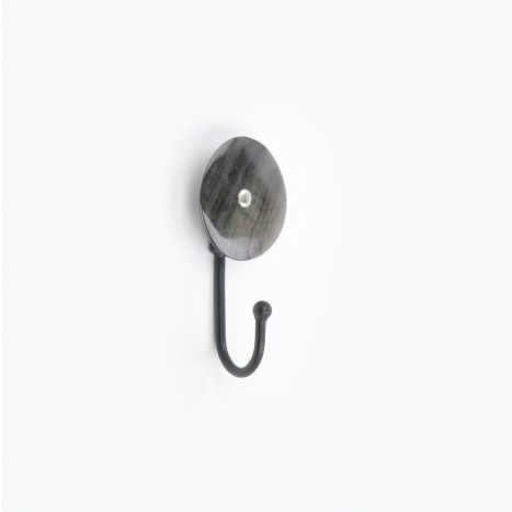Small Black Decorative Wall Hook