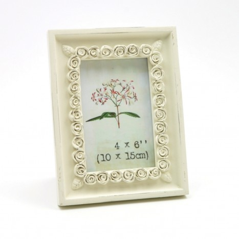 Standard Size Flowery Picture Frame