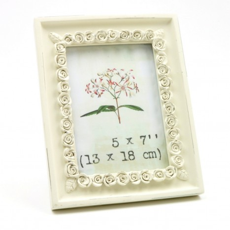 Large Size Flowery Picture Frame