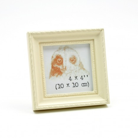 Bedside Cream Photo Frame