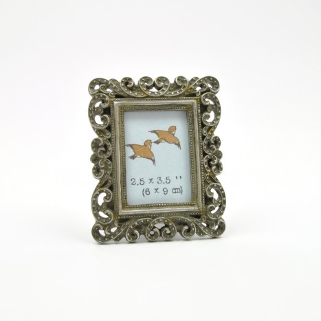 Decorative Silver Picture Frame
