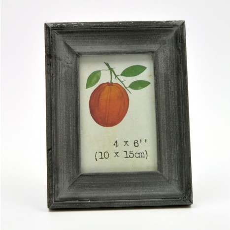 Simple Grey Painted Wooden Picture Frame