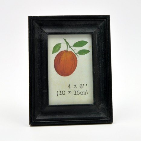 Simple Black Painted Wooden Picture Frame