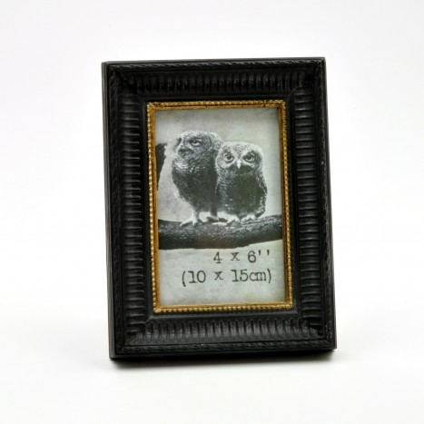 Black and Golden Picture Frame