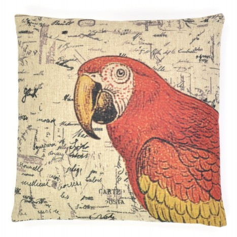Large Parrot Cushion