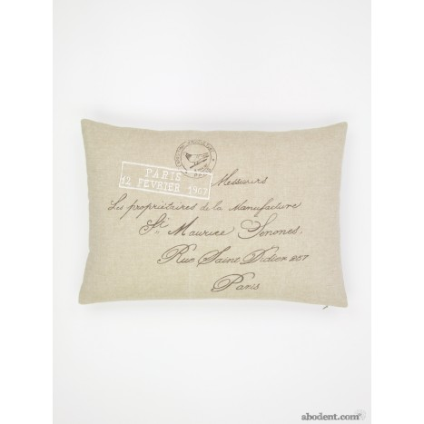 Parisian Post Cushion
