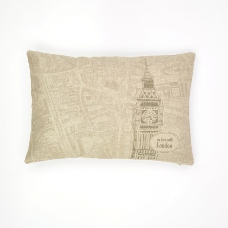 Vintage English Cushion
