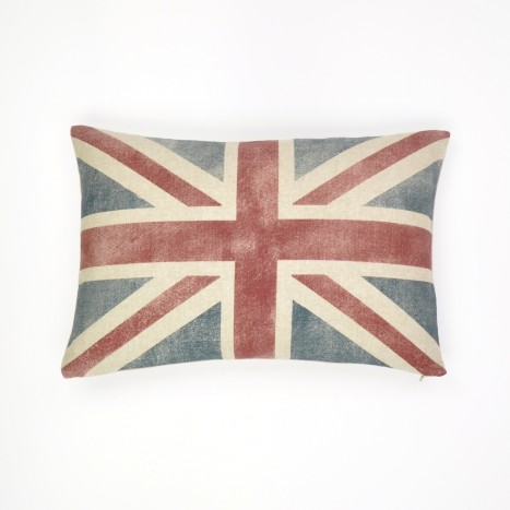 Weary British Flag Cushion