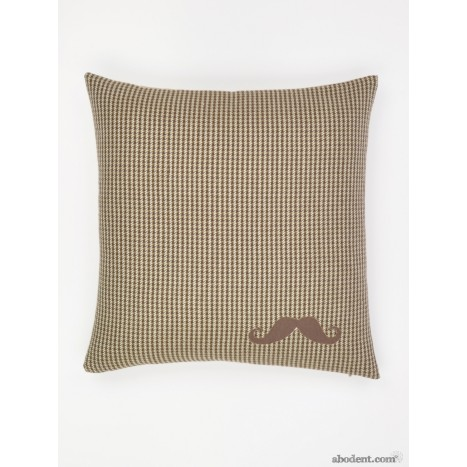 Moustache Medley Cushion Cover