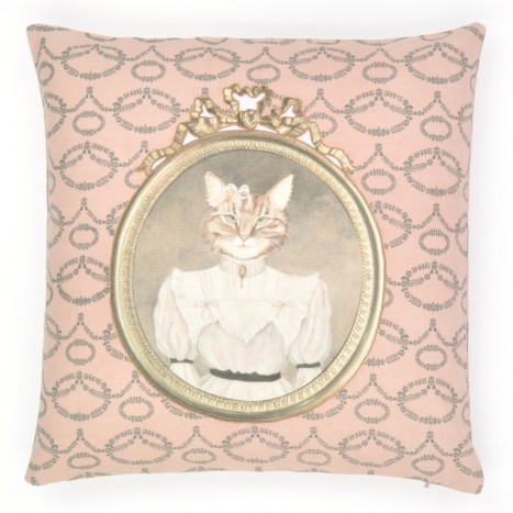 Kitsch Kitty Cushion Cover