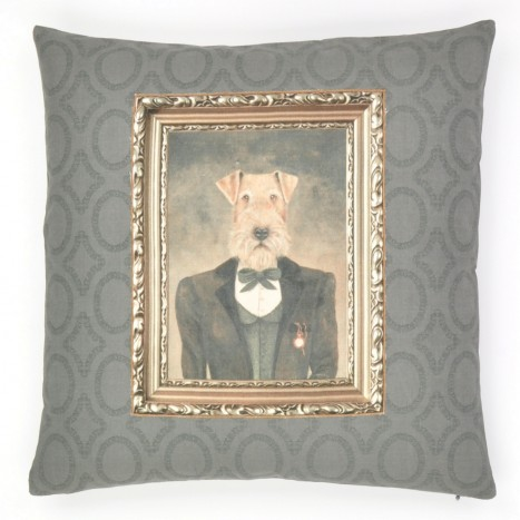 Quirky Dog Cushion