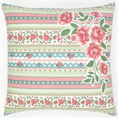 Flower and Lace Cushion