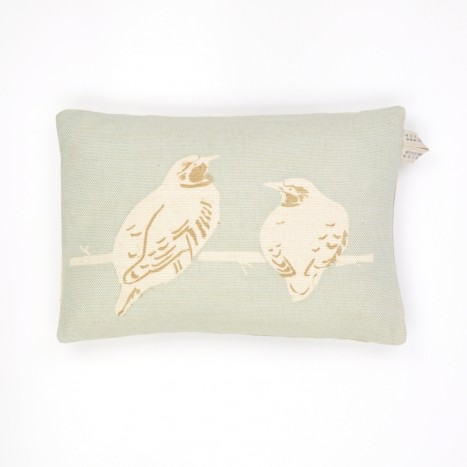Goldfinch Dyad Cushion - Blue