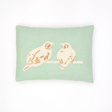Goldfinch Dyad Cushion - Turquoise