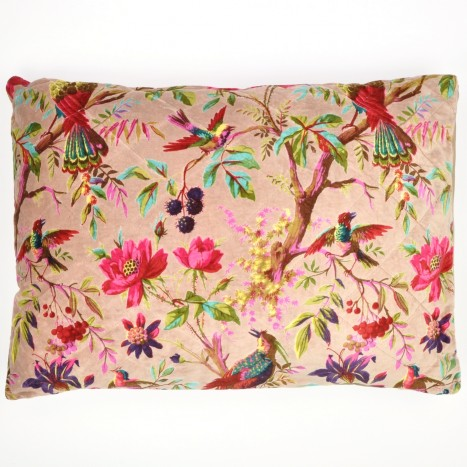 Jumbo Sumi-e Canopy Bird Cushion