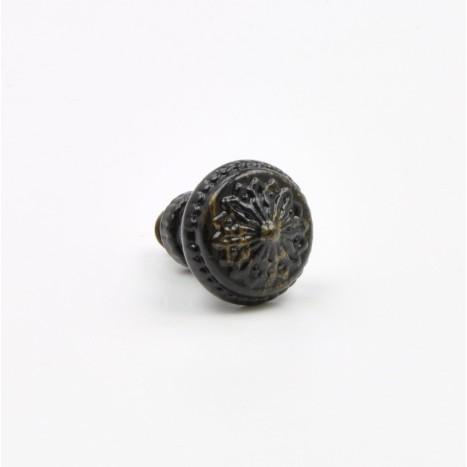 Small Black Vintage Knobs