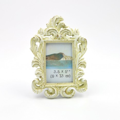 Baroque Furls Photo Frame