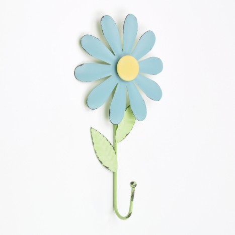 Colourful Blue Flower Hook