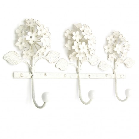 Bouquet Mount Coat Rack - 3 Hook