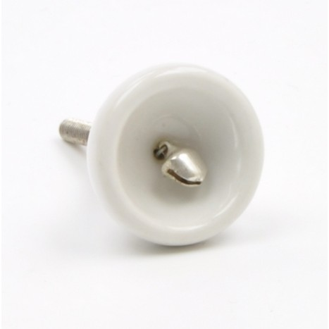 White Ceramic Cup Knob