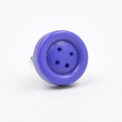 Purple Button Knob