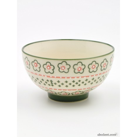 Flowery Ceramic Bowls