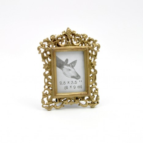 Pretty Golden Photo Frames