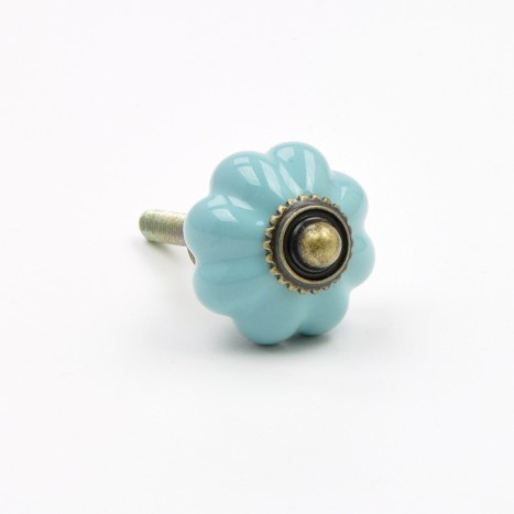 Vintage Finds Cupboard Knob - Turquoise