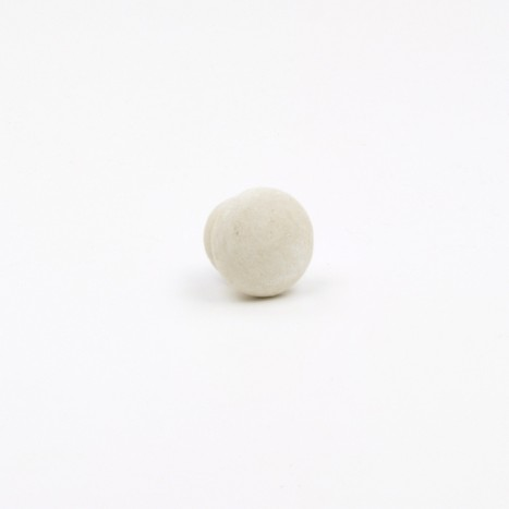 Mini Milky Wooden Knob - Small