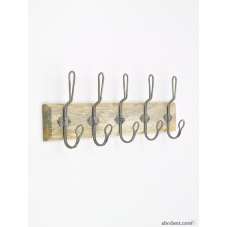 Danes Coat Rack (Dark Wood)