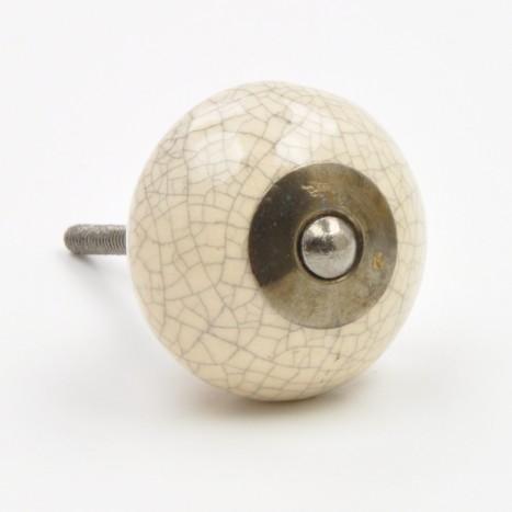 Cracked Ceramic Ball Knobs