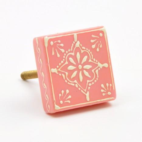 Delicatessen Cupboard Knob - Pink
