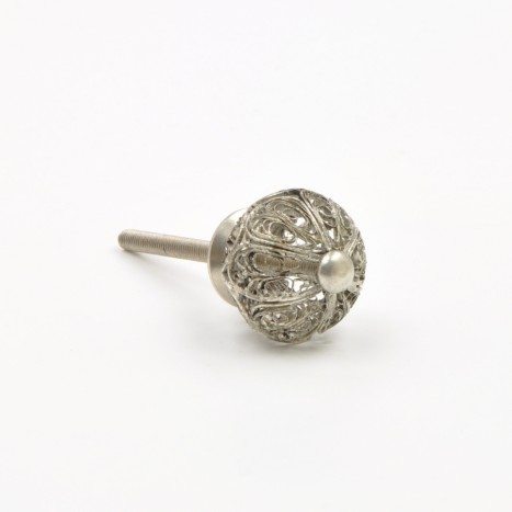 Filigree Ball Cupboard Knob