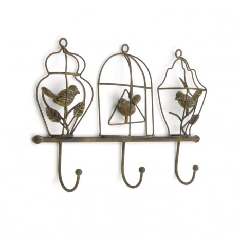 Metal Birds Coat Rack