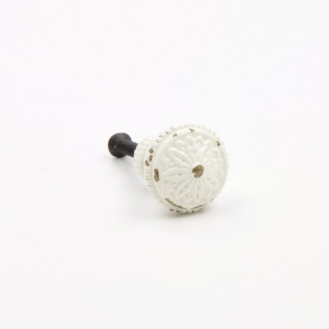 Small White Vintage Knobs