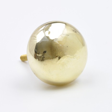 Precious Glass Cupboard Knob - Gold