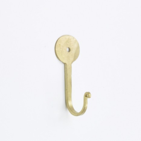 Farrier Coat Hook - Gold