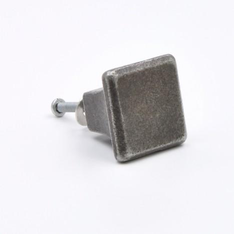 Square Metal Cabinet Knob