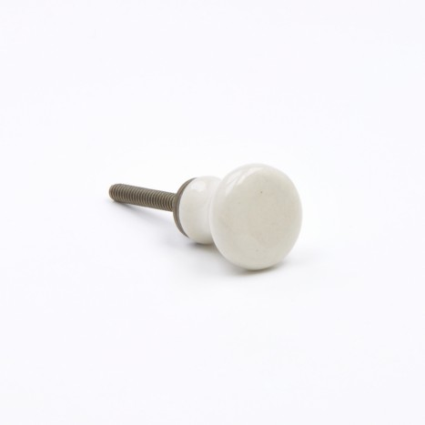 Small Coloured Ceramic Knob